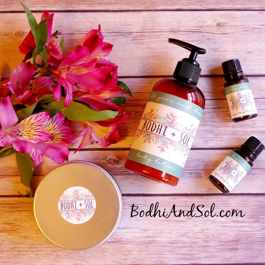 Bodhi + Sol Pure Botanicals: Affordable All Natural Body Products & Pure Organic Essential Oils